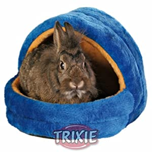 Trixie 6296 Cuddly Cave for Small Pets 25 × 25 × 29 cm Grey/Green