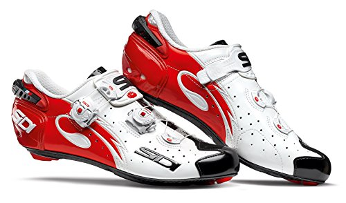 Chaussures route WIRE CARBON 2017 Running Trail Sidi blanc/noir