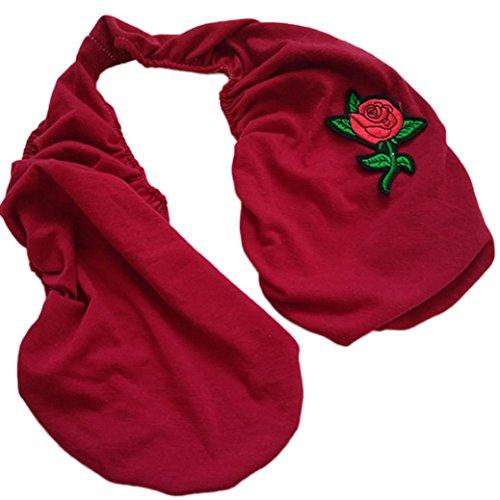 HKFV TATA TOWEL Fashion Design Bequeme Brust Atmung Frauen Handtuch UnterwäscheSoft Ta-Ta Handtuch Boob Sweat Handtuch BH (Rot) (Cami Bh-unterstützung)