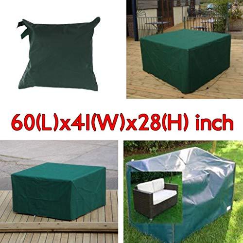 Yongse 152x104x71cm Meubles de jardin Outdoor Imperméable Respirant Dust Cover Table Shelter