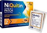 NiQuitin 14 mg Clear Patch - Stop Smoking Aid Programme - Step 2 - 7 Clear patches, 7 Days Treatment