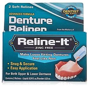 DENTEMP Reline It – Zahnersatz-Kit , 680 g