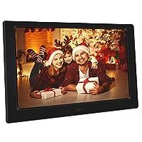 إطار صور رقمي LED 10 بوصة HD 1024 * 600 صورة رقمية ألبوم إلكتروني يدعم USB وبطاقة SD وجهاز التحكم عن بعد