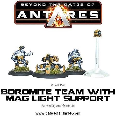 Puertas de Antares–Boromite equipo con Mag apoyo luz