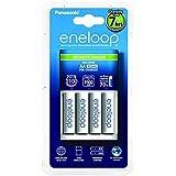 cellePhone Batterie-Set Ni-MH Mignon AA Sanyo Eneloop ( BK-3MCCE ) y compris le chargeur ( BQ-CC17 )