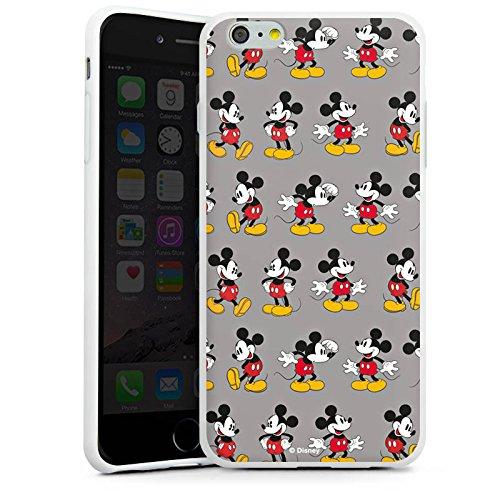 Apple iPhone 7 Silikon Hülle Case Schutzhülle Disney Mickey Mouse Merchandise Geschenk Silikon Case weiß