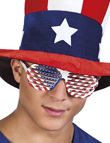 Sonnenbrille mit USA Flagge