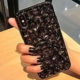 Coque iPhone XS Max,Surakey Glitter Paillette TPU Silicone Coque Etui de Protection...