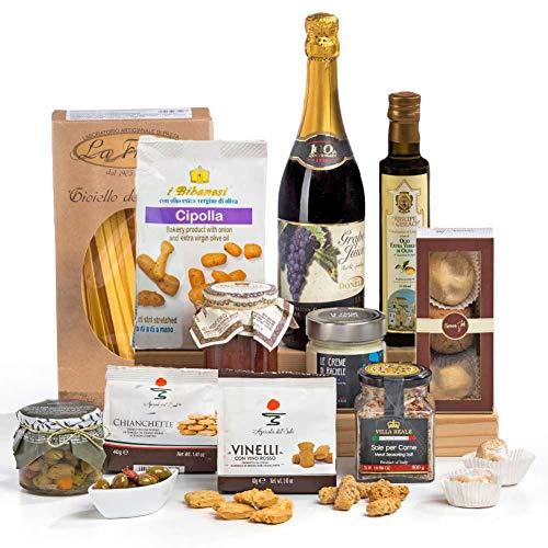 Squisito Luxus italienischen & sizilianischen Lebensmittel Hamper Geschenkbox