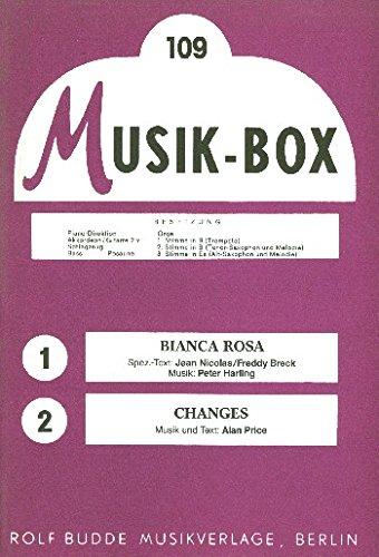 Bianca Rose et changes: pour combo