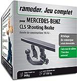 Rameder Attelage rotule démontable pour Mercedes-Benz CLS Shooting Brake + Faisceau 7 Broches (143734-10848-1-FR)