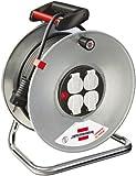 Brennenstuhl 1198560 Garant S 4 - Carrete alargador de cable (50 m, H05VV-F 3G1,5)