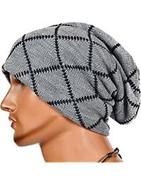 WanYang Unisex Hombres Mujeres Beanie Casquillo del Knit del Esquí Hip-Hop  de Invierno Sombrero 7963f105818