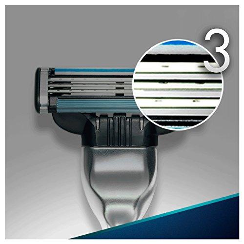 Gillette Mach3   Maquinilla para hombre + 12 recambios de hojas de afeitar