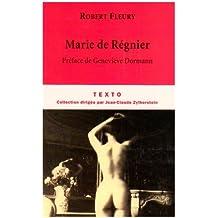 Marie de Régnier (Texto)