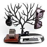 Best Tree Stands - Styleys Jewellery Rack, Creative Sika Deer Tree Jewellery Review