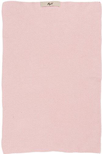 IB Laursen Handtuch Mynte English Rose gestrickt Küchenhandtuch rosa Küchentuch Tuch Universaltuch Allzwecktuch