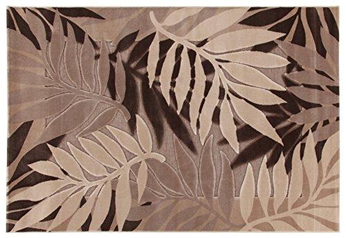 Viva Nature Tappeto, Materiale Sintetico, Beige/Marrone, 133x190x2.53 cm