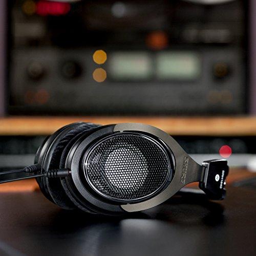 Shure SRH1840, offener Kopfhörer / Over-ear, schwarz/silber, High-End, geräuschunterdrückend, Kabel austauschbar, Velourpolster, natürlicher Klang, erweiterte Höhen, akkurater Bass, gematchte Wandler - 6