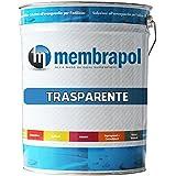 Membrapol - Líquido impermeabilizante transparente para terrazas y balcones, envase de 5 kg
