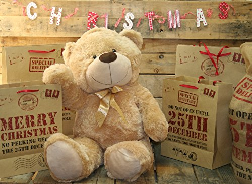 Extra Large 80Cm Super Cuddly Plush Giant Sitting Teddy Bear Soft Toy (Cookie) by Teddy Bears
