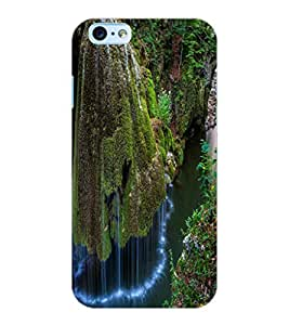 ColourCraft Beautiful WaterFall Design Back Case Cover for APPLE IPHONE 6
