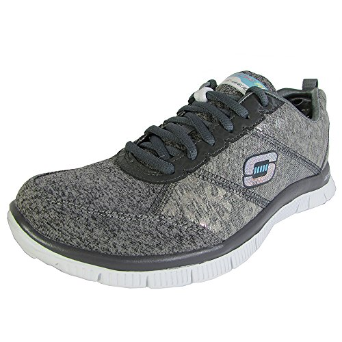 Skechers Donna SYNERGY-MOONLIGHT MADNESS scarpe sportive GRY