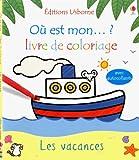 Image de Livre de coloriage Les vacances