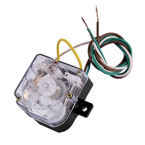 eDealMax DXT15 Lavatrice Timer, AC 250 V, 3A 3 fili Timer, Nero -