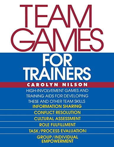Team Games for Trainers (McGraw-Hill Training Series)