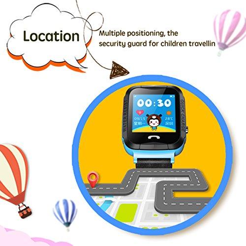 Kids-Smart-Watch-GPS-Tracker-anti-perso-SOS-esterna-impermeabile-orologi-sportivi-blu