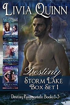 Storm Lake Box Set 1 (Destiny 1-3): Storm Lake West (Destiny Paramortals (Southern Small Town Sheriff) (Fantasy & Magic) (Urban fantasy Cozy Paranormal)) by [Quinn, Livia]