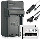 2 Batteries + Chargeur (Auto/Secteur) pour EN-EL23 / Nikon Coolpix Coolpix B700, P600, P610, P900, S810c