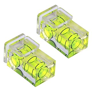 TRIXES 2x Hot shoe camera double spirit level two axis (2-axis)