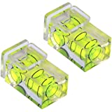 TRIXES X2 Hot shoe camera double spirit level, two axis (2-axis)