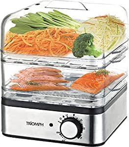 Triomph etf1575 cuiseur vapeur inox 400 w cuisine maison - Cuiseur vapeur industriel ...