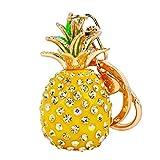 bigboba niedliche Fruit Form Schlüsselanhänger Legierung personalisierte Ananas Schlüsselanhänger Anhänger Kleine Geschenk Schlüsselanhänger Handtasche KFZ-Dekoration