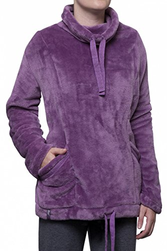 Heat Holders 1 Nr. Damen 1.4 tog Thermische Winter warme Wärme Inhaber Snugover Fleece Pullover in Lila Größe - kleine / Medium - 34 -38 Chest S / M