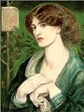 Posterlounge Holzbild 30 x 40 cm: Die Anrede von Beatrice von Dante Charles Gabriel Rossetti/Bridgeman Images