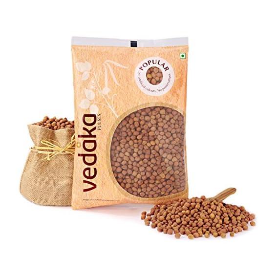 Amazon Brand - Vedaka Popular Black Chana, 500g