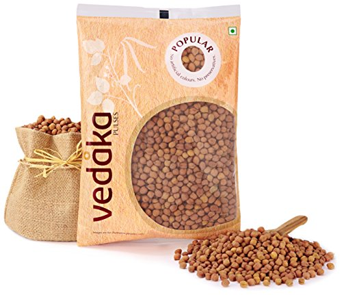 Amazon Brand – Vedaka Popular Black Chana, 1kg