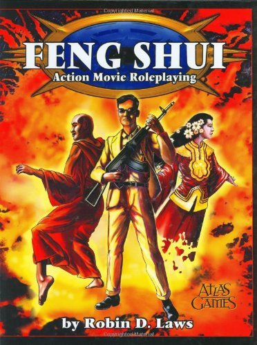 Feng Shui Role Playing Game by Robin D. Laws (1-Aug-1999) Hardcover