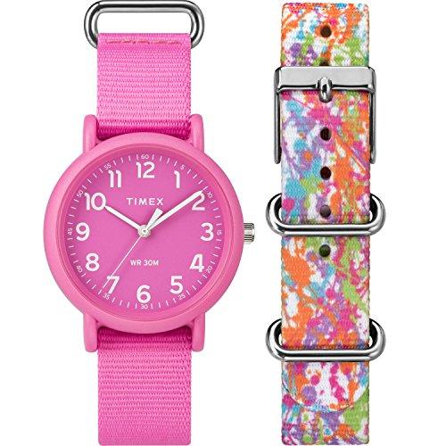 Timex Weekender Color Rush Box Set Pink/Splash