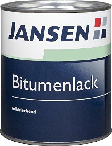 Jansen Bitumenlack 750 ml schwarz