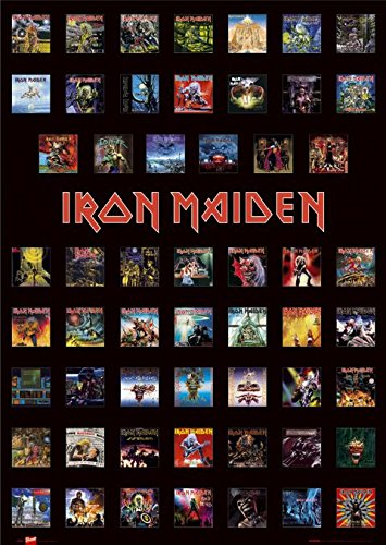 Iron Maiden-Covers-61x 91,5cm Poster/Poster