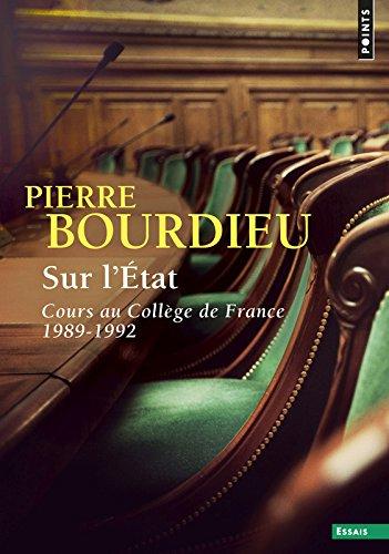 Sur l'état. Cours au collège de France (1989-1992)