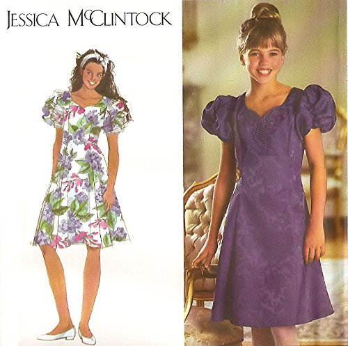 simplicity-sewing-pattern-9384-jessica-mcclintock-occasion-robe-fille-plus-taille-85-165