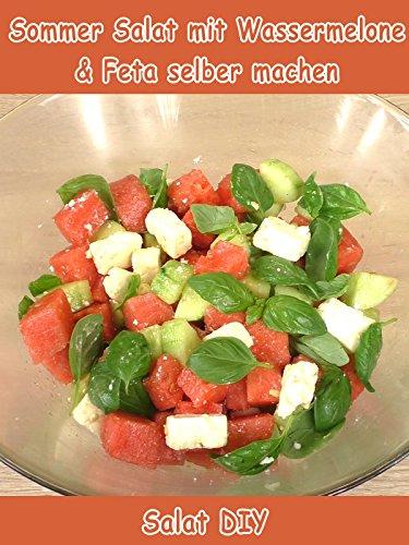 Clip: Sommer Salat mit Wassermelone & Feta selber machen - Salat DIY