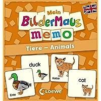 Mein-Bildermaus-Memo-Englisch-Tiere-Animals-Kinderspiel Mein Bildermaus-Memo – Englisch – Tiere – Animals (Kinderspiel) -