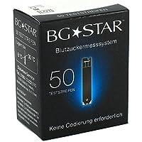 BGSTAR BLUTZUCKER TESTSTREIFEN - 50 ST. preisvergleich bei billige-tabletten.eu
